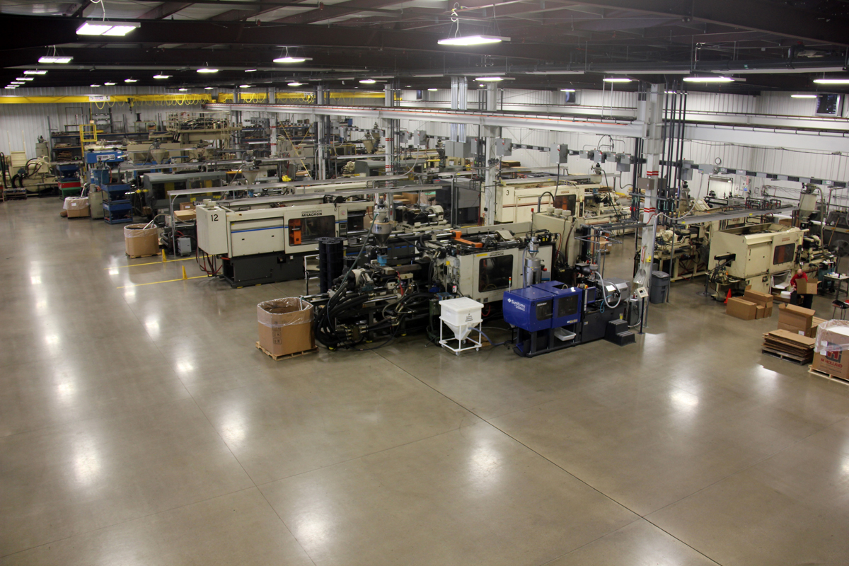 Mossberg Industries Indiana California spools reels molds